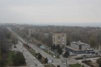 Проспект Баклановский вдоль рощи и Черемушек