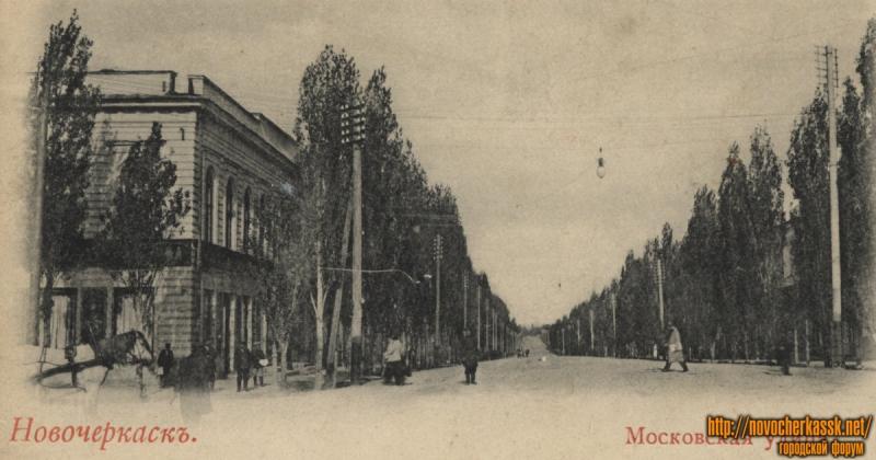 Пересечение Московской и проспекта Платова