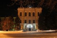 Улица Пушкинская. Здание НГМА