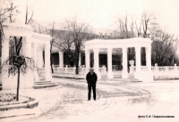 Александровский сад. Ротонды и кинотеатр «Ударник»