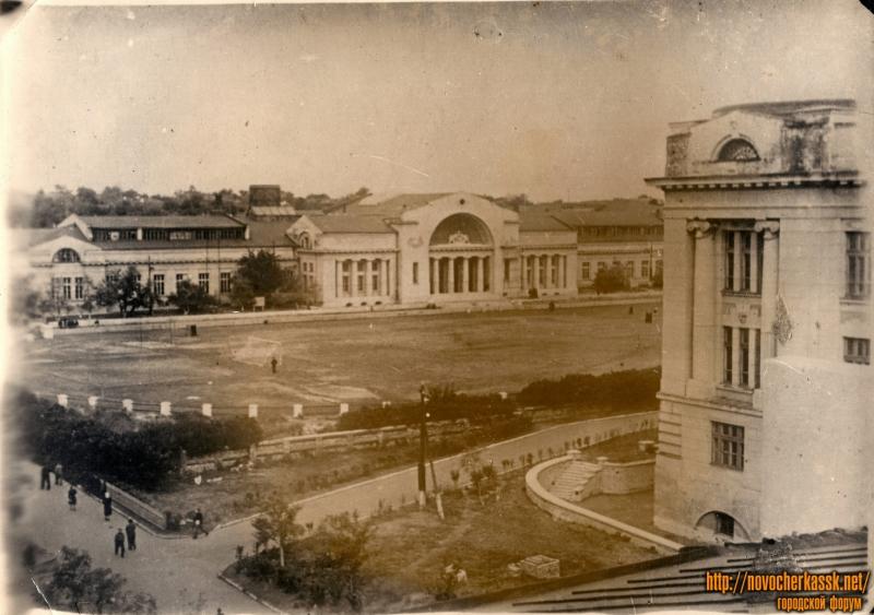 ЮРГТУ. Вид на стадион с крыши РТ