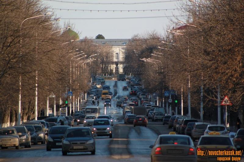 Улица Московская. Весна.