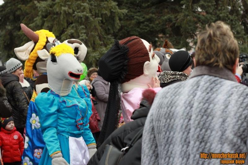 Празднование масленицы в Новочеркасске