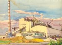 Строительство Новочеркасской ГРЭС