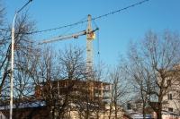 Строительство многоэтажки на ул. Просвещения, 106
