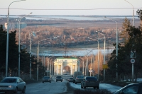 Спуск Герцена. Триумфальная арка