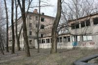 Заброшенная больница на ул. Гвардейской