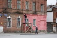 Покраска дома №143 по улице Комитетской