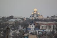 Вид на проспект Платовский со стороны старой Ростовской дороги