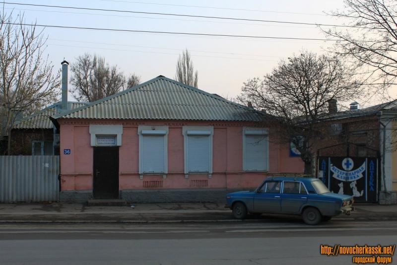 Проспект Баклановский, 36