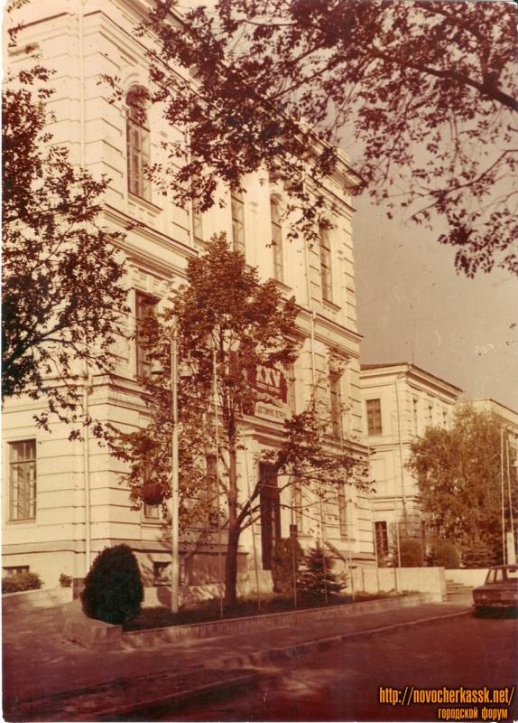 Главный корпус НИМИ около 1975 г.
