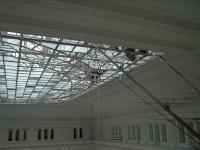 Потолок крытого двора ЮРГТУ (НПИ), ремонт