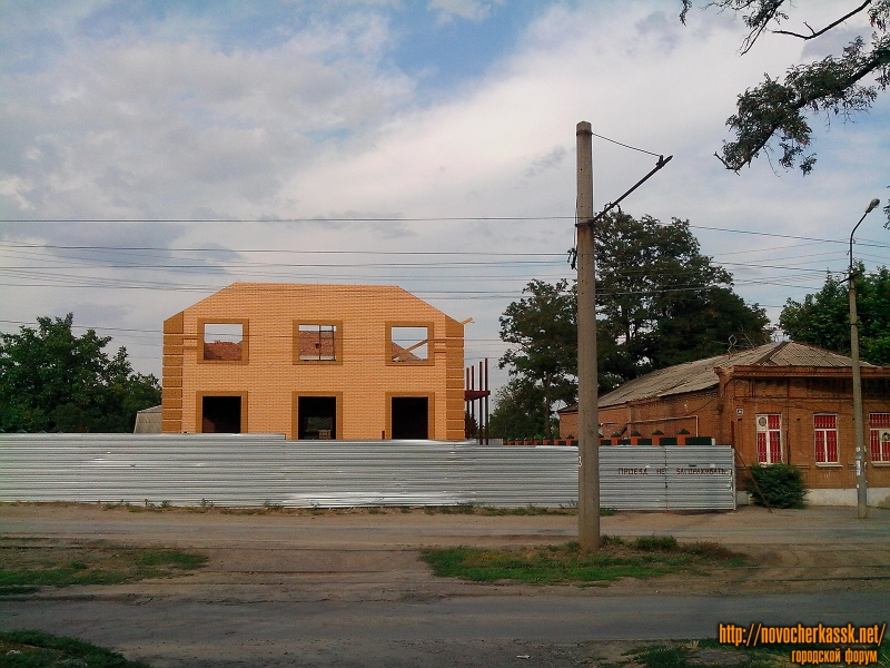 Строительство дома по переулку Галины Петровой