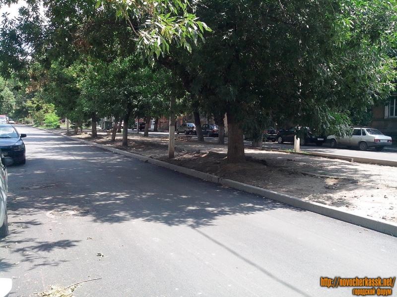 Улица Дубовского. После замены асфальта
