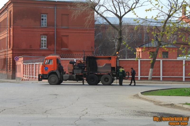 Латочный ремонт проспекта Баклановского