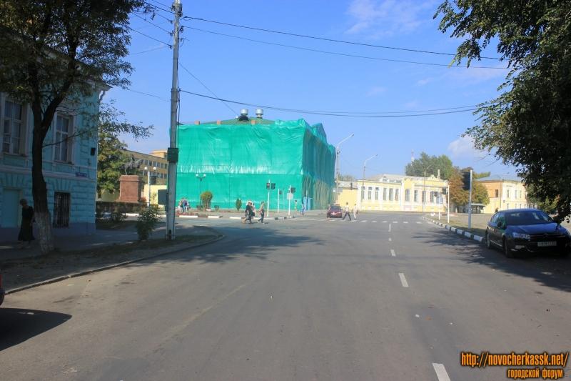 Площадь Ермака