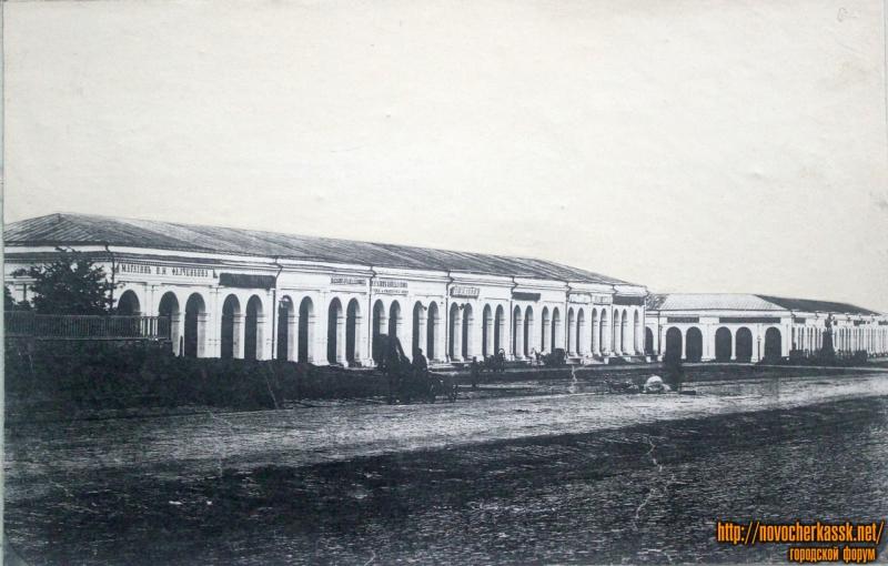 Гостиные ряды (ныне разрушенное левое крыло)