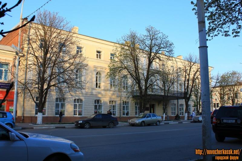 Библиотека имени Пушкина. Улица Московская