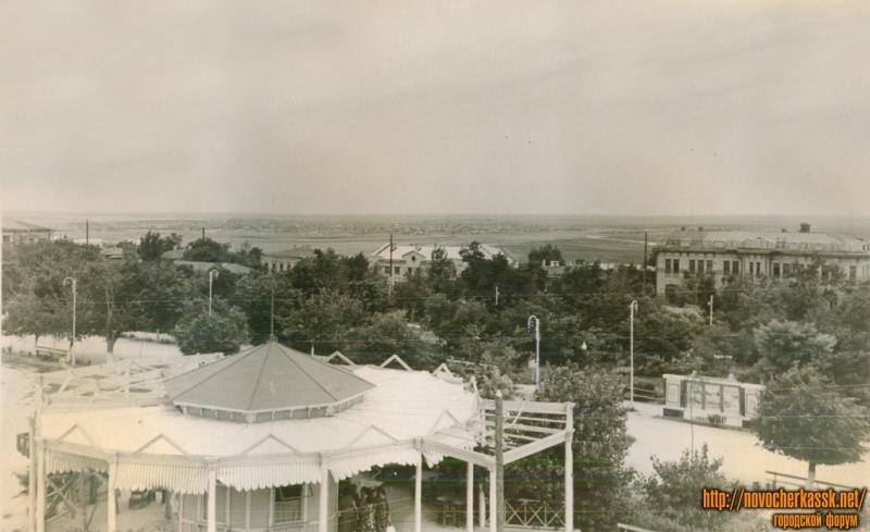 Вид с кургана городского парка