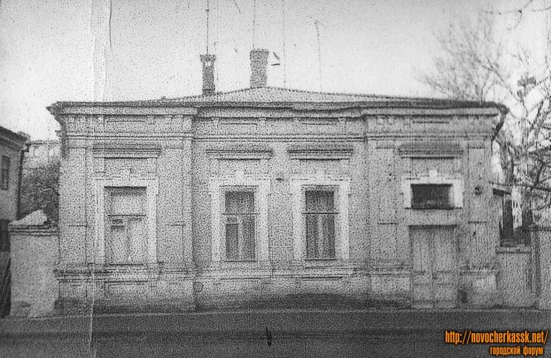 Проспект Баклановский, 58. Снесен