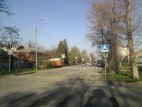 Улица Буденновская. Сооружение пешеходного перехода перед школой №19