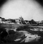 Вид с кургана в городском парке
