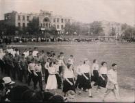 Стадион на месте нынешнего универмага