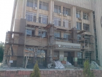 Реконструкция здания Администрации и Сбербанка России на Платовском