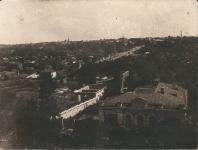 Вид на улицу Просвещения и южную часть города с Главного корпуса НПИ, 1937