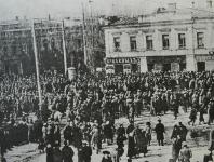 Угол Московской и Платовского 1917 г.