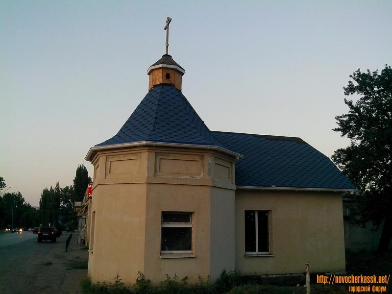 Ремонт часовни на ул. Гагарина