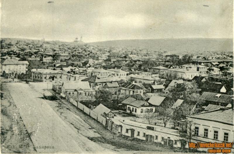 Вид на улицу Московскую с Троицкого храма