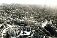 Вид Троицкой площади с высоты птичьего полета