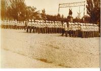 памятник Платову, парад