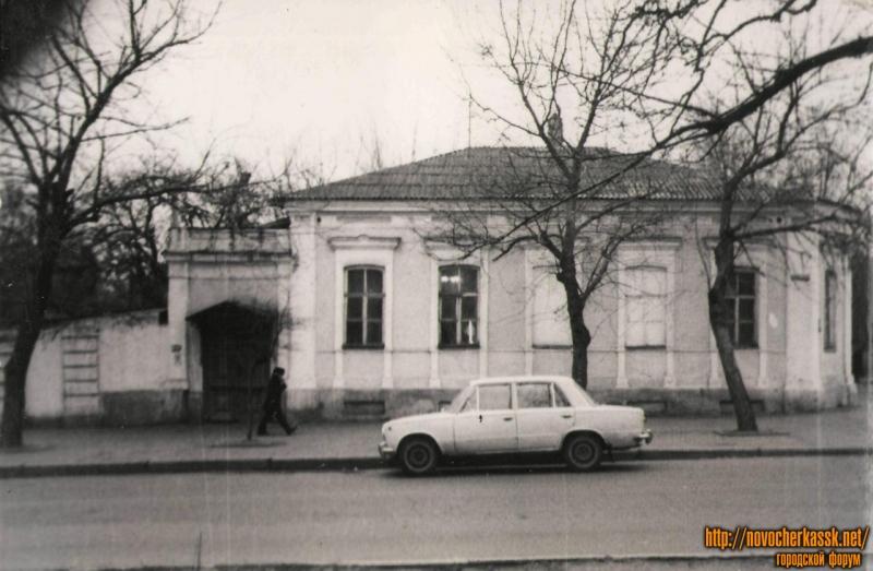 Баклановский, 31