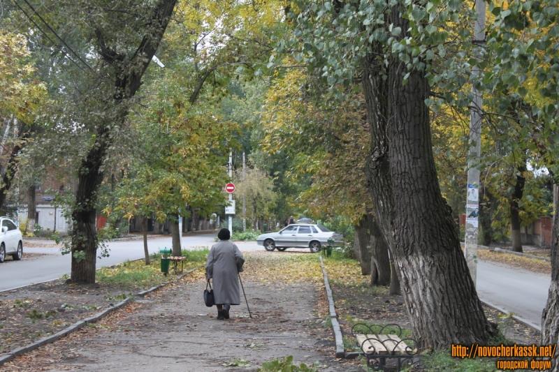 Аллея на Дубовского