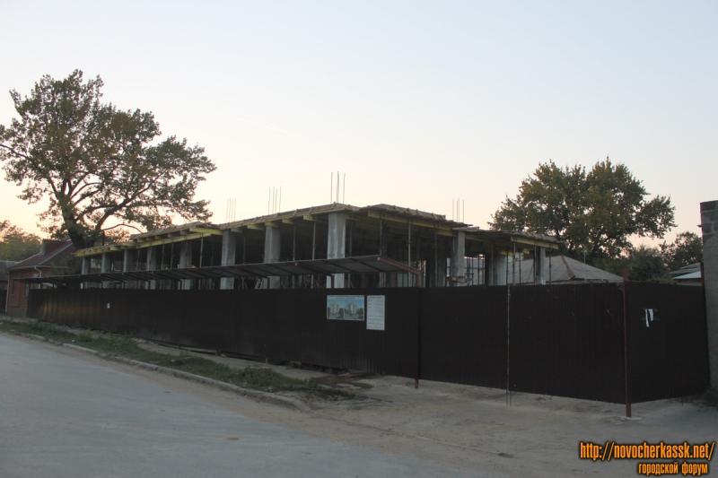 Строительство дома на улице Энгельса, 6