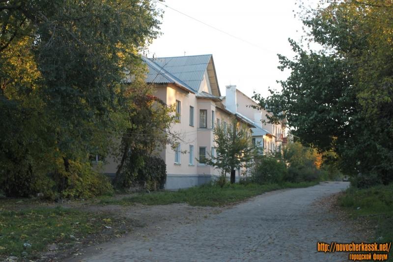 Улица Школьная. Вид с улицы Фрунзе