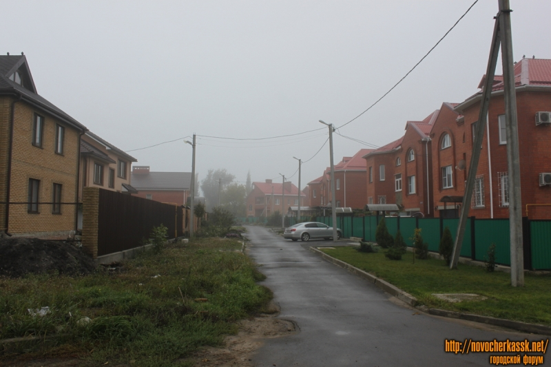 Сибирский переулок, вид с улицы Казачьей