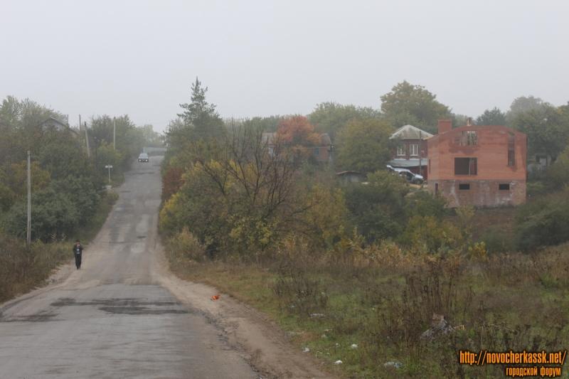 Выезд из поселка Ключевой