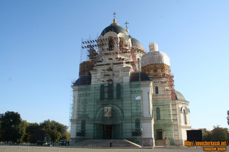 Реконструкция куполов собора