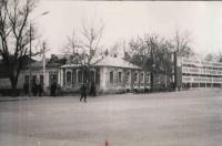 Угол Пушкинской и Энгельса (пересечение с Баклановским)