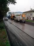 Ремонт дороги на проспекте Платовском