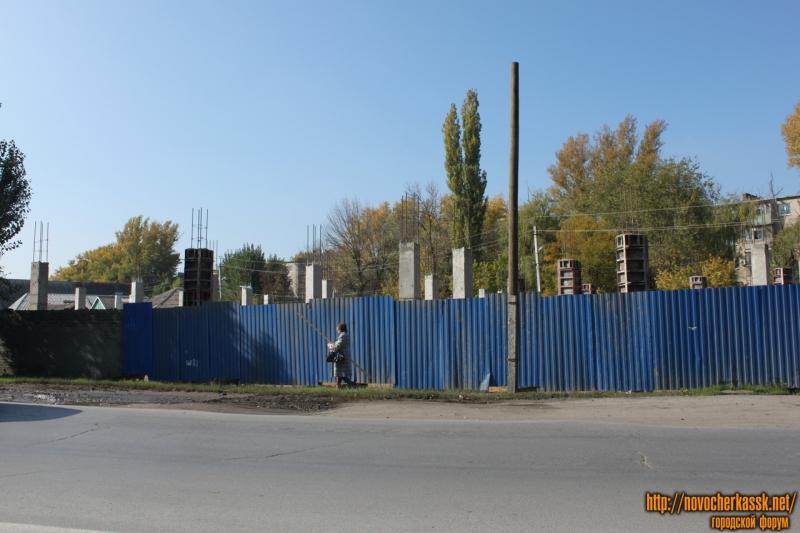Строительство торгового центра на Хотунке