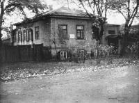 Дом, в котором родился художник Н. Н. Дубовской. Улица Фрунзе, 52