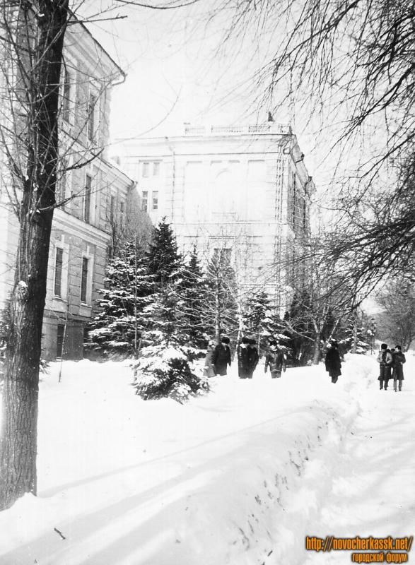 Улица Пушкинская, 111. Здание НГМА (бывший Донской мариинский институт)