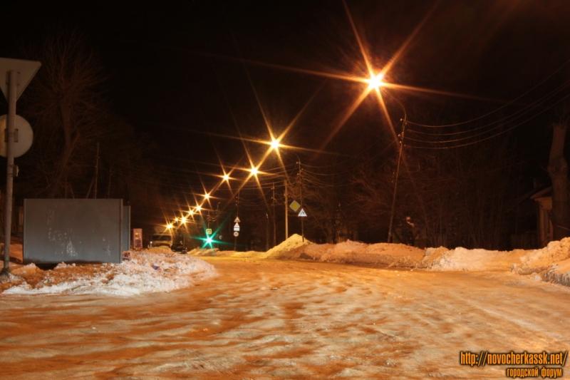 Улица Буденновская. Вид со спуска Герцена