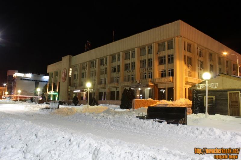 Здание Администрации Новочеркасска. Проспект Платовский