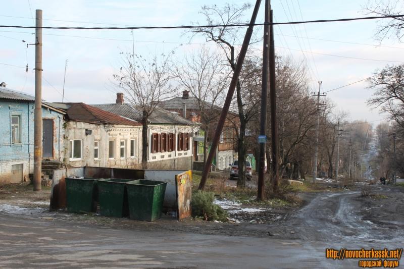 Улица Богдана Хмельницкого. Вид с улицы Бакунина