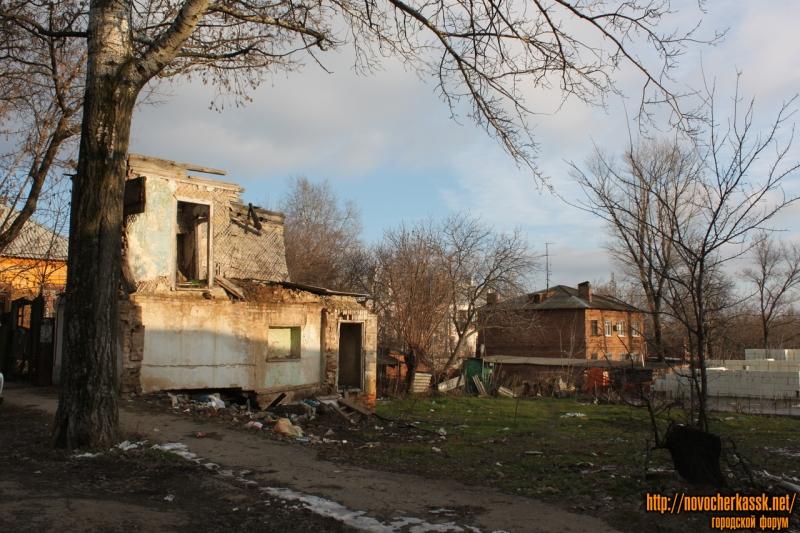 Снесенный дом на улице Бакунина (ранее номер 21)